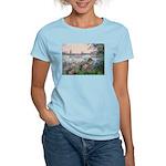 Seine / Poodle (Silver) Women's Light T-Shirt