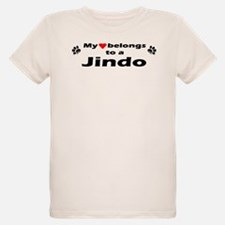 My Heart Belongs To A Jindo T-Shirt