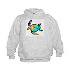 Earth Day Sea Turtle Hoodie