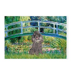 Bridge / Poodle (Silver) Postcards (Package of 8)