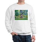 Bridge / Poodle (Silver) Sweatshirt