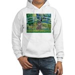 Bridge / Poodle (Silver) Hooded Sweatshirt