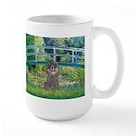 Bridge / Poodle (Silver) Large Mug