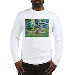 Bridge / Poodle (Silver) Long Sleeve T-Shirt