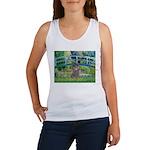 Bridge / Poodle (Silver) Women's Tank Top