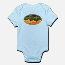 Brook Trout Fly Fishing Onesie