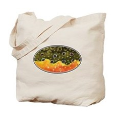 Brook Trout Fly Fishing Tote Bag