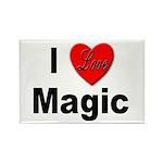 I Love Magic Rectangle Magnet (10 pack)