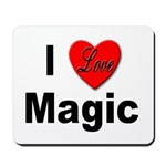 I Love Magic Mousepad