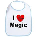 I Love Magic Bib