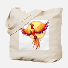 Phoenix Firebird Tote Bag