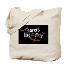 Cute Spelunkers Tote Bag