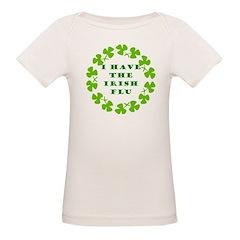 Irish Flu Organic Baby T-Shirt