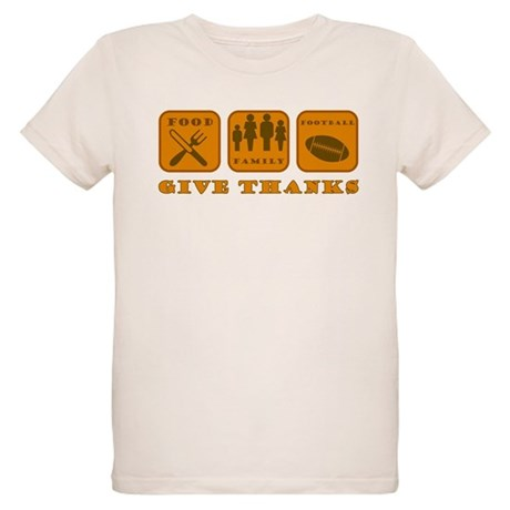Give Thanks Organic Kids T-Shirt
