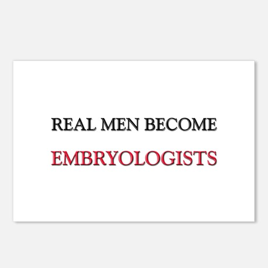Real Men Become Embryologists Postcards (Package o