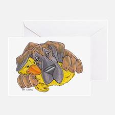 NBlBrdl Ducky Greeting Card