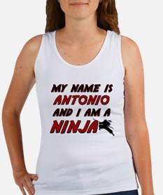 my name is antonio and i am a ninja Women's Tank T