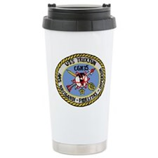 USS Truxtun CGN 35 Ceramic Travel Mug