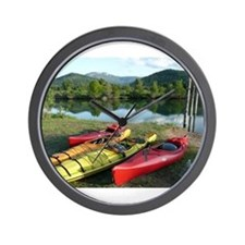 Wall Clock for the kayak lover