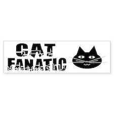 Cat Fanatic Bumper Bumper Sticker