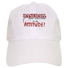 Baseball, More Than A Sport Baseball Cap