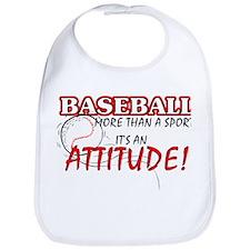 Baseball, More Than A Sport Bib