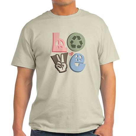 Love Recycle Light T-Shirt
