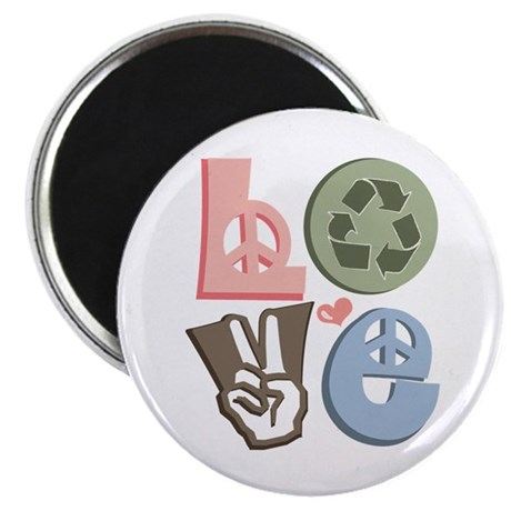 Love Recycle Magnet