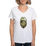 Fairfax County Police Women's V-Neck T-Shirt