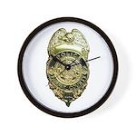 Fairfax County Police Wall Clock