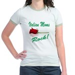 Italian moms Rock Jr. Ringer T-Shirt