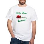 Italian moms Rock White T-Shirt