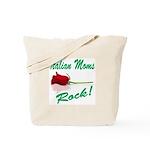 Italian moms Rock Tote Bag