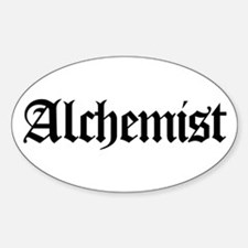 Alchemist Oval Decal