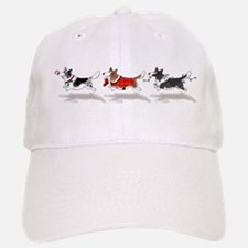 Three Cardigan Corgis Baseball Baseball Cap