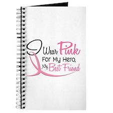 Pink For My Hero 3 BEST FRIEND Journal