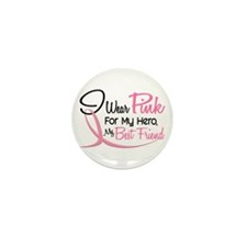 Pink For My Hero 3 BEST FRIEND Mini Button (10 pac