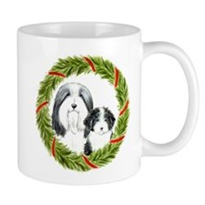 Funny Bearded collie art Mug
