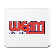WEAM Wash, DC 1960s -  Mousepad