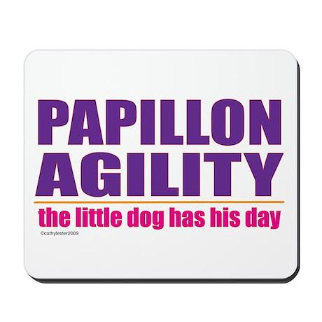 Papillon Agility Mousepad