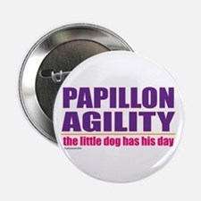 """Papillon Agility 2.25"""" Button"""