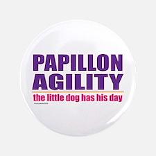 """Papillon Agility 3.5"""" Button"""