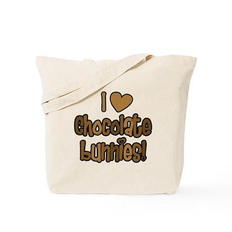 Chocolate Bunnies Tote Bag