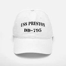 USS PRESTON Baseball Baseball Cap