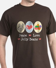 Peace Love Jelly Beans T-Shirt