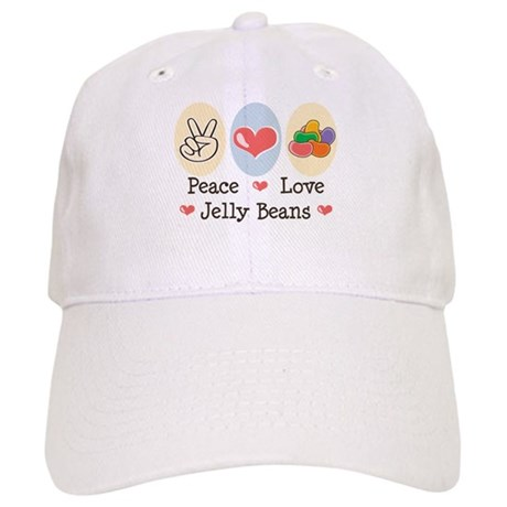 Peace Love Jelly Beans Cap