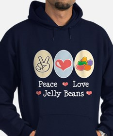 Peace Love Jelly Beans Hoodie
