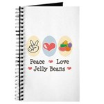 Peace Love Jelly Beans Journal
