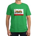 Gay Marriage in California Men's Fitted T-Shirt (d