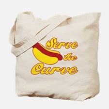 Serve the Curve Tote Bag